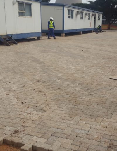 60 mm Interlocker Paving
